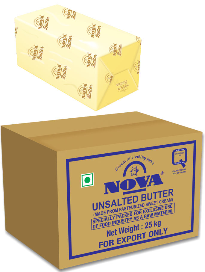 nova unsalted butter