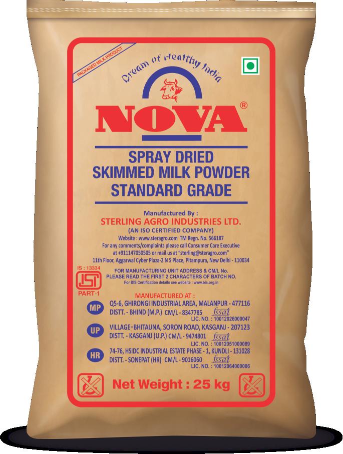 nova spray dried smp powder